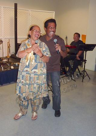 Karen Keawehawaii and Gary Moore