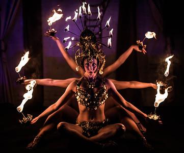 Desert Sin's Kali at Flambeaux's 'The Calling'