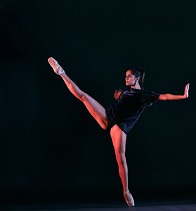 Jan. 11, 2020 - New York, NY   Dancer Dulce Aguilar Crespo captured at FD Studios Astoria NY  Photographer- Robert Altman Post-production- Robert Altman