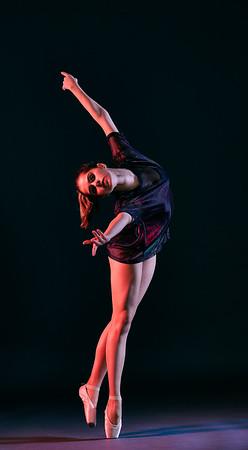 Jan. 11, 2020 - New York, NY   Dancer Dulce Aguilar Crespo captured at FD Studios Astoria NY  Photographer- Robert Altman Post-production- Robert Altman