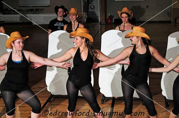 Elite Feet Rehearsal 2012