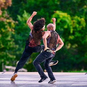 Sept. 26, 2020-NY, NY   Kaatsbaan Summer Festival performance by Ephrat Asherie/Omari Wiles - Les Ballets Afrik as part of the Guggenheim's Works and Process Program  Photographer- Robert Altman Post-production- Robert Altman