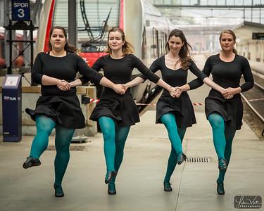 «Irish Dance Company» performing during Dansens Dager 2019.