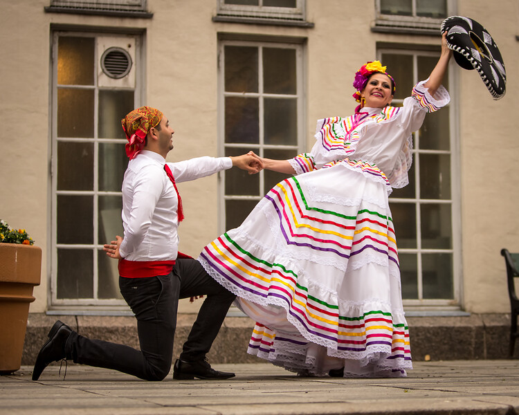 «Mexico Lindo» performing during Dansens Dager 2019.
