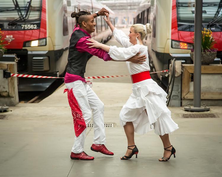 «Cuba-Norge Dance» performing during Dansens Dager 2019.