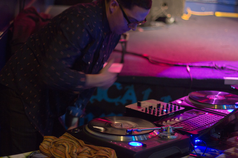 DJ Cloak Dagger (and NJ)