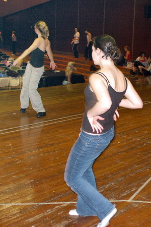 Fall 04 Dance Rehearsal