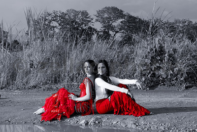 Flamenco Dancers Anita Loynaz and Carolina Pizzocaro