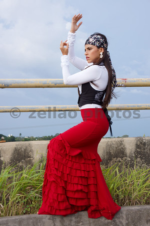 Flamenco Dancer Carolina Pizzocaro