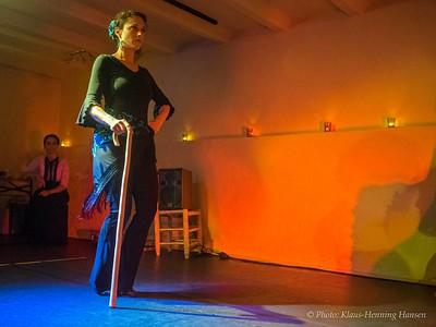 Flamenco-Vorführung im Los Cabales