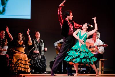 Yaelisa Caminos Flamencos - Homenaje a Los Flamencos de la Bodega 2012