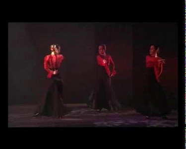 """A new version of the flamenco dance fantasy """"Pequeno Valser Viennese"""". Performed by the Studio Andalucia flamenco dance group."""