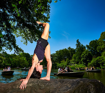 May 26, 2019 - New York, NY  Dancer Gabriela Vazquez captured in New York's Central Park  Photographer- Robert Altman Post-production- Robert Altman