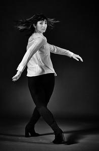 Feb. 9th, 2019 - New York, NY   Dancer/yogi Gabrielle Girard captured in studio  Photographer- Robert Altman Post-production- Robert Altman