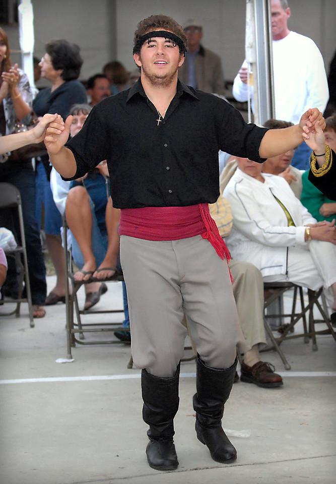 The Grecian Odyssey Dancers at the 2007 St. Katherine Greek Orthodox Church Festival