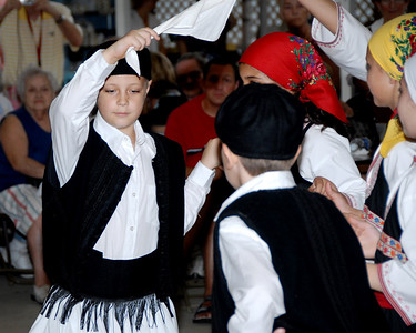 The Grecian Odyssey Dancers at the 2008 St. Katherine Greek Orthodox Church Festival