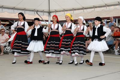 The Grecian Odyssey Dancers at the 2008 St. Katherine Greek Orthodox Church Festival