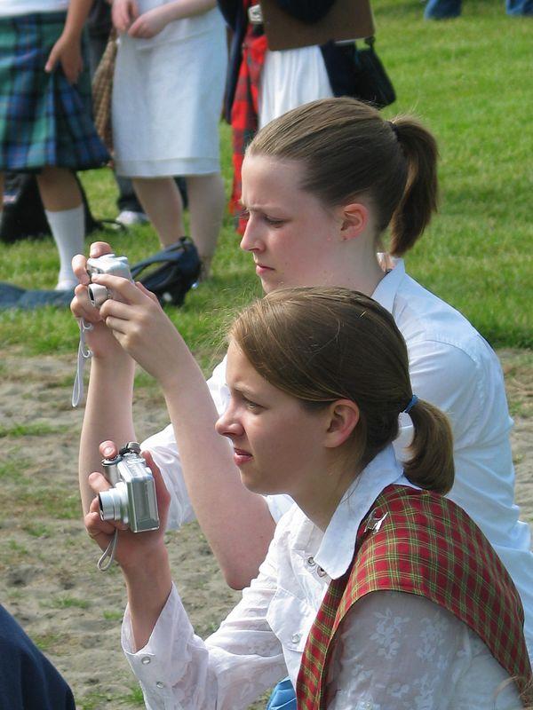 Meghan and Sarah