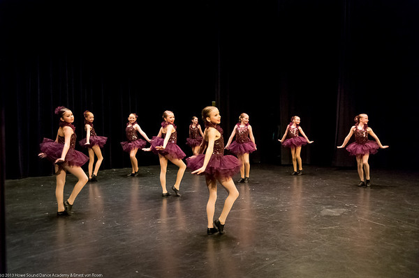 Howe Sound Dance Academy pre-show Feb. 2013