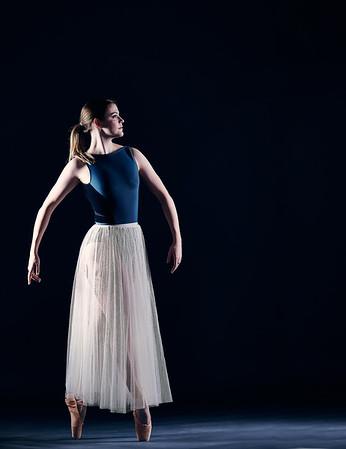 Jan. 12, 2020 - New York, NY   Dancer Hannah Hayward captured at FD Studios Astoria NY  Photographer- Robert Altman Post-production- Robert Altman