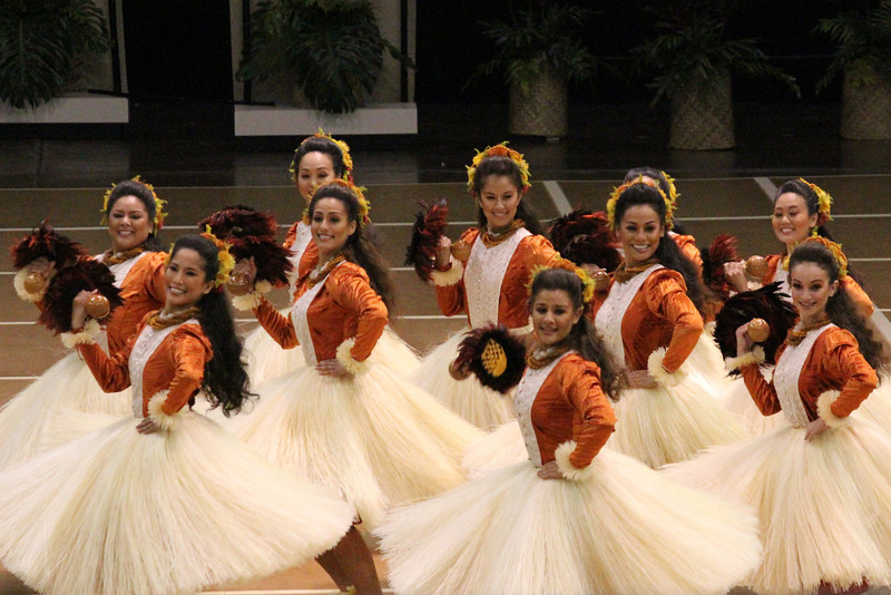 Halau Hi'iakainamakalehua @ Kamehameha Day 2012 (HH)