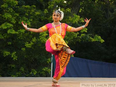 India Dance ~ Untermyer Park ~ 07-21-2012