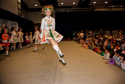 A Medley of Irish Dances (Ireland) performed by the O'Neill-James School of Irish Dancing