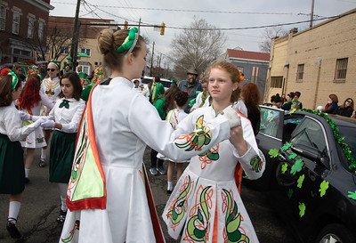 Ballyshaners St. Patrick's Day Parade in Old Town Alexandria Va.; O'Neill-James School of Irish Dancing