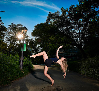 July 3, 2019 - New York, NY  Dancer Isabele Rosso in Central Park  Photographer- Robert Altman Post-production- Robert Altman
