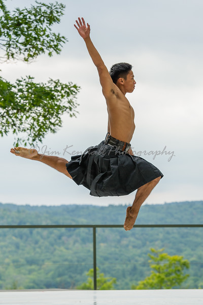 Cal State Fullerton Dancer at Jacob's Pillow - 2016