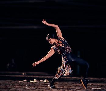 Sept. 12, 2020-NY, NY   Dancer/Performer/Aerialist Eriko Jimbo captured in Brooklyn, NY  Photographer- Robert Altman Post-production- Robert Altman