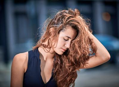 July 27, 2019 - New York, NY  Dancer Johanna Pellerin captured in downtown NYC Wearing Danz N Motion by Danshuz  and Sajell Dancewear  Photographer- Robert Altman Post-production- Robert Altman