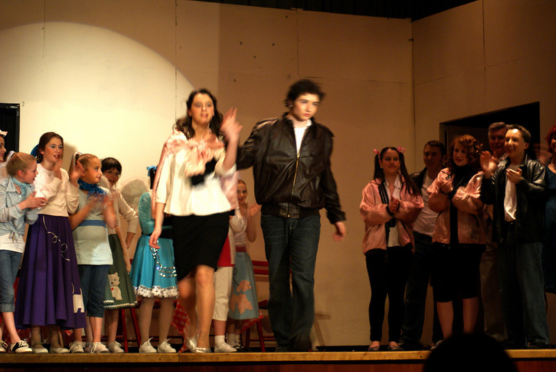Josh and Friends in Millis Theater Group's Grease...