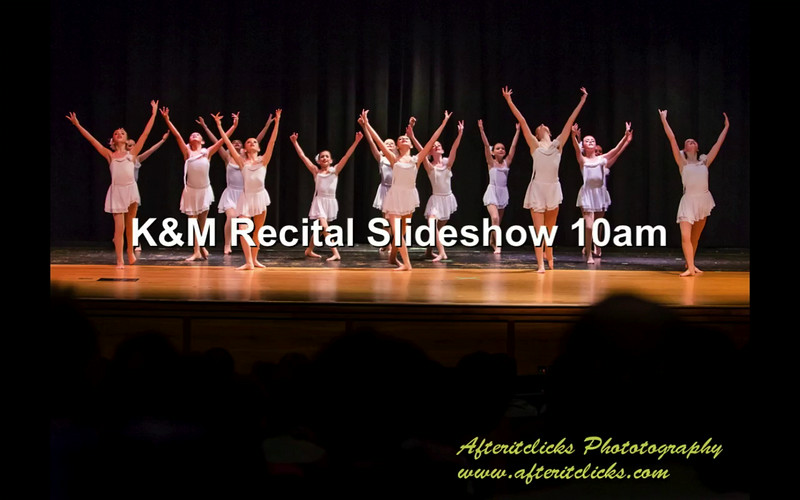 K&M Recital Slideshow 10am
