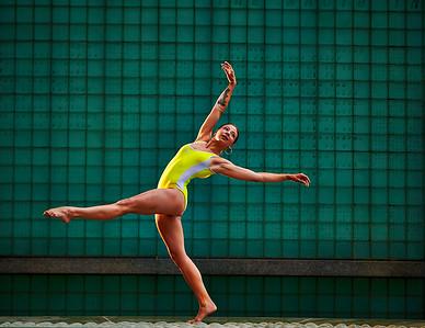 June 20, 2020- New York, NY    Dancer Kat Rodriguez (The Balletrina) captured Downtown Manhattan   Photographer- Robert Altman Post-production- Robert Altman
