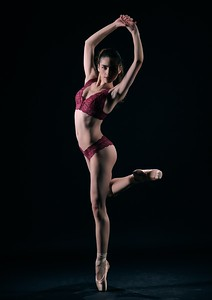 Feb. 20, 2019 - New York, NY  Dancer -Model Kristina Kalabacas captured in studio  Photographer- Robert Altman Post-production- Robert Altman