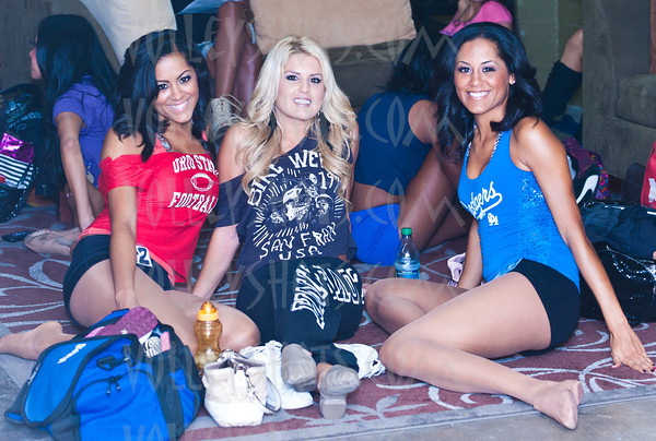 """LA Matadors """"Knockouts"""" Dance Audition, 15 Oct 2011"""