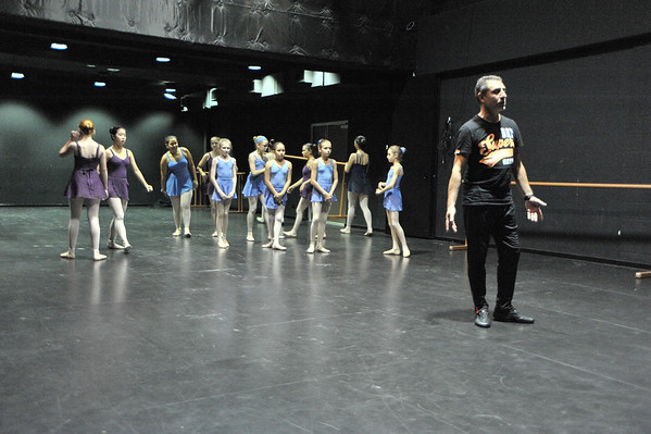 Classes of Adrian Dimitrievitch. Palmerston, MacKillop Catholic College. 29.06.15.