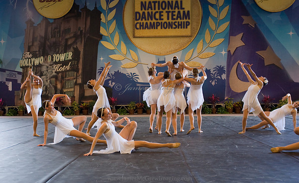 Jazz routine at Nationals.