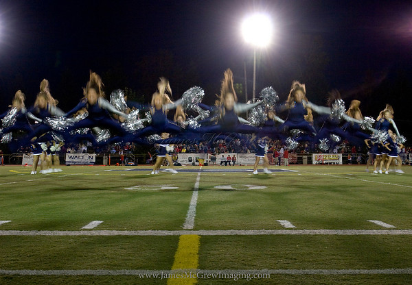 Half Time show at a Laker Varsity Football Game.