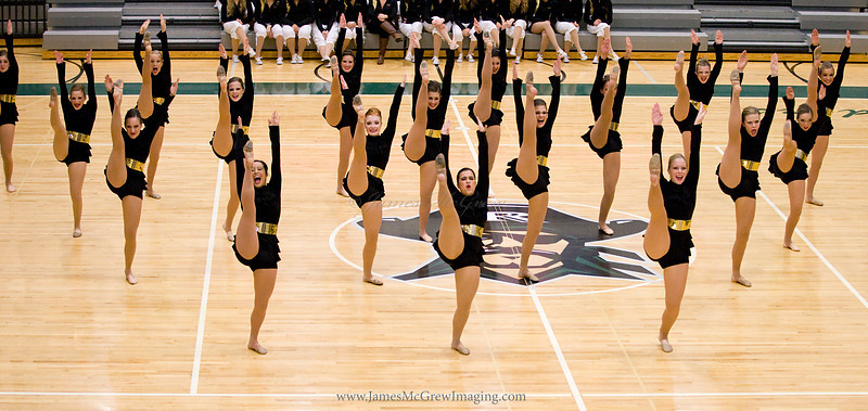 Jazz routine at Reynolds Competition.
