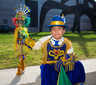 Austin- 9yrs Oxen Hill, Md  - Fraternidad Morenada Central