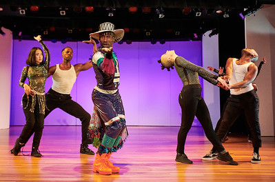 "Jan. 13, 2020 - New York, NY   The Guggenheim Museum's Works and Process program presents Les Ballet Afrik and Ephrat Asherie Dance, Archi Burnett moderator  choreographer Omari Wiles brings the ballroom to the Peter B. Lewis Theater at the Guggenheim. With excerpts of New York is Burning, performed by Les Ballet Afrik and guest artists, Wiles presents his signature ""AfrikFusion"" style, which fuses traditional African dances and Afrobeat styles with House dance and Vogue. Excerpts from Ephrat Asherie's UnderScored (working title) are performed by EAD company members with guest artists from New York City's underground dance scene. Beginning with the legendary parties at The Loft and the Paradise Garage, UnderScored is inspired by intergenerational club-life memories and explores the ever-changing physical landscape of New York City's underground House dance community.  Les Ballet Afrik- New York is Burning  Ephrat Asherie- Underscored   Photographer- Robert Altman Post-production- Robert Altman"