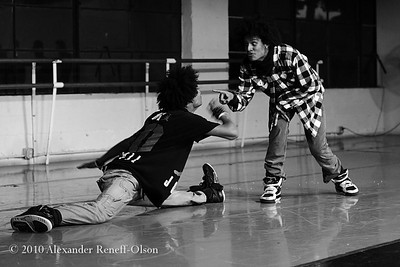 Les Twins at City Dance Studios