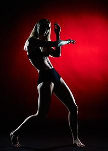 March 14, 2020- New York, NY  Dancer Lindsey L. Miller captured in studio  Photographer- Robert Altman Post-production- Robert Altman
