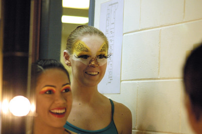 Little Marmide 2009, Dressing room in Darwin Entertainment Centre
