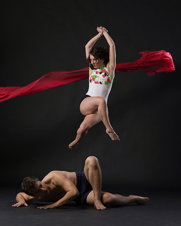 Dancers Louis  Acquisto,Kimberly Lyons Photographed by Eric Yagoda taken as part of a workshop with Lois Greenfield August 29th 2010