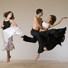 Dancers Alexandra Karigan, Katie Crutchfield, , Louis  Acquisto,Photographed by Eric Yagoda taken as part of a workshop with Lois Greenfield August 28th 2010