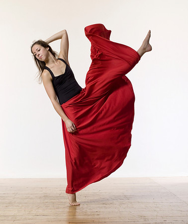Dancer Katie Crutchfield, Photographed by Eric Yagoda taken as part of a workshop with Lois Greenfield August 28th 2010