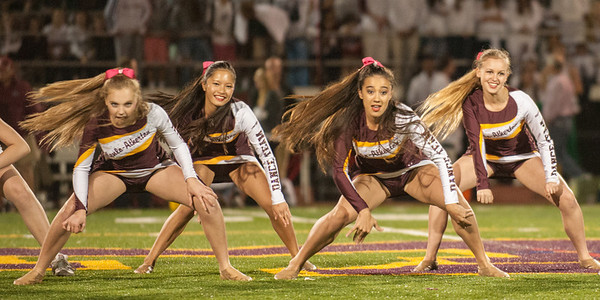 M-A Dance at Sacred Heart Prep Football Game 2013-10-18